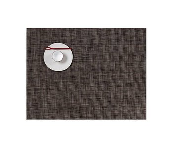 Chilewich Placemat Mini Basketweave Dark Walnut