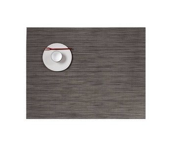 Chilewich Placemat Mini Basketweave Light Grey