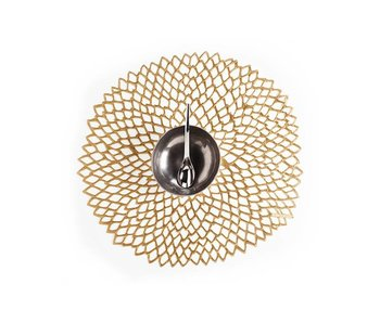 Chilewich Placemat Dahlia Brass