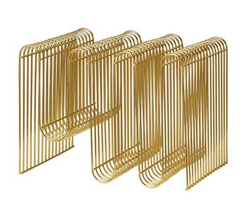 AYTM Curva Magazine Holder Gold