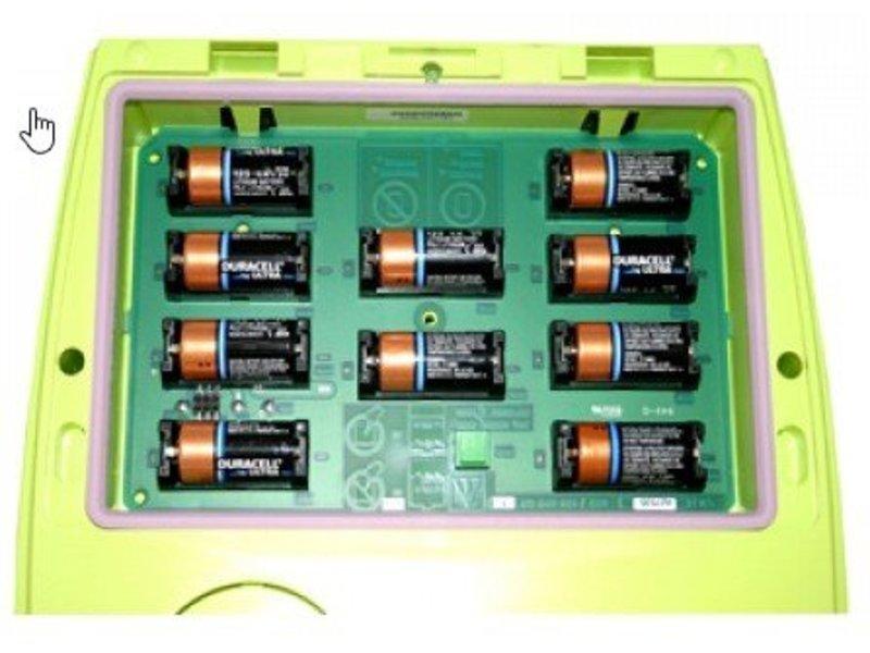 Zoll AED batterijen, 10 stuks.