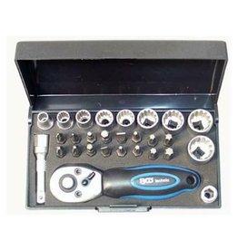 BGS technic 2143 Mini Steckschlüsselsatz Industriequalität