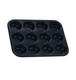 Eurohome Eurohome 597501 Muffinform für 12 Muffins antihaftbeschichtet