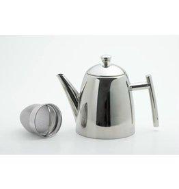 Weis Weis 170694 Edelstahl Teekanne mit Sieb 1,5 Liter