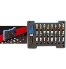 BGS technic BGS technic 4825 Color-Bit-Set 25tlg S2-Stahl Farbleitsystem