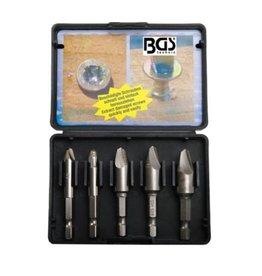 BGS technic 5282 Schraubenkopf Ausdreher Set 5tlg in Kassette