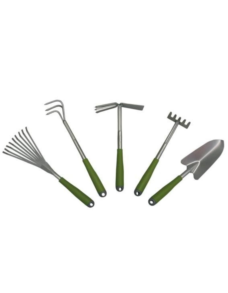 Garden Joker Garden-Joker Gartengeräte Set 5tlg pulverbeschichtet