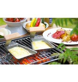 Home & Garden Grillpfännchen Set 2er ideal für Fisch Gemüse 201270119-HE