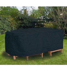 Profiline Profiline 454761 Schutzhülle Abdeckung schwer für Tisch 155cm oval anthrazit