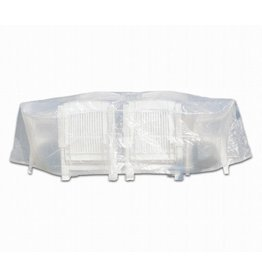 Profiline Profiline 454728 Schutzhülle Abdeckung Sitzgruppe 230x135x70 oval transparent
