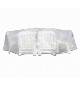 Profiline 454727 Schutzhülle Abdeckung Sitzgruppe 320x70cm rund transparent