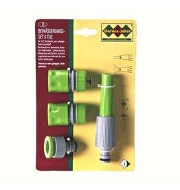 """Garden-Joker 258821 Bewässerungsset 5tlg 12,7mm (1/2"""") mit Wasserstop"""