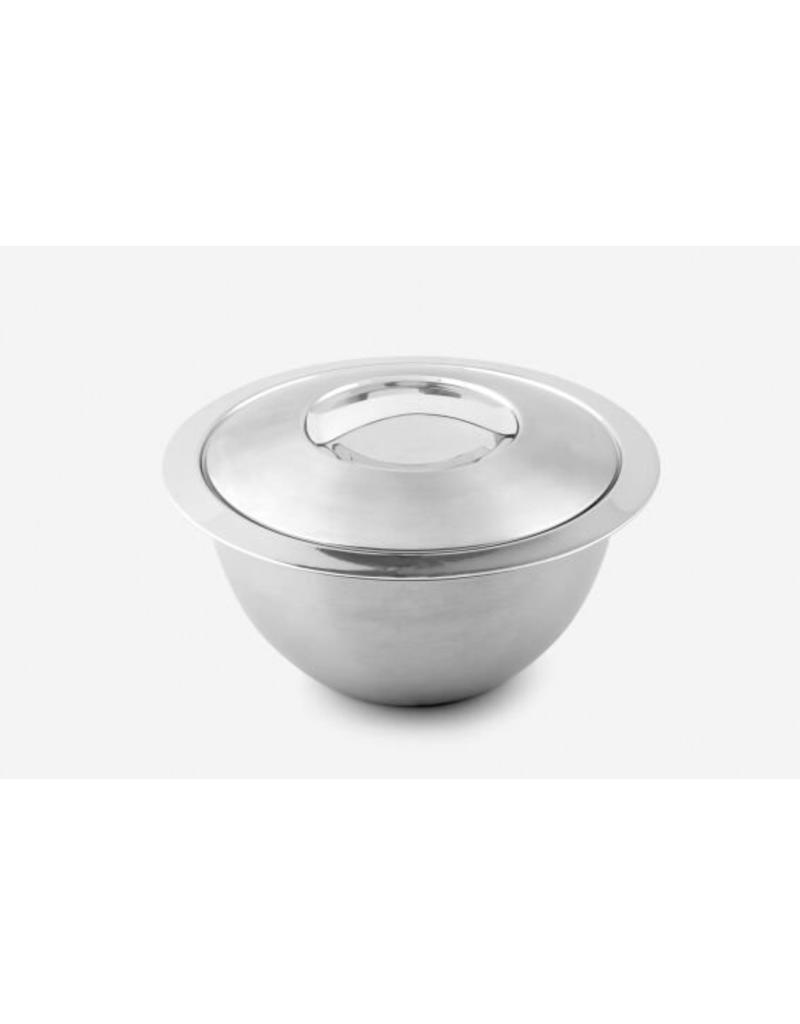 Weis Weis 240304 Edelstahl Thermo Küchenschüssel Schüssel mit Deckel 30cm 2,8 Liter