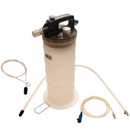 BGS technic BGS technic 3157 Druckluft Bremsenentlüfter und Ölabsauggerät 5 Liter Behälter