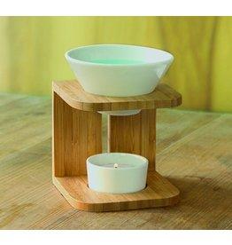 Home & Garden Aromalampe CURVE für angenehmen Duft und stilvolle Beleuchtung 201000108-HE