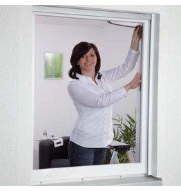 CULEX 100190105-CU Fliegengitter für Fenster 130x150cm anthrazit Polyester