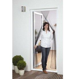CULEX CULEX 100450101-CU Fliegengitter Türvorhang 2x60x210cm weiss mit Klettband