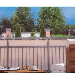 Home & Garden Balkonschutz Sichtschutz 6m lang 90cm hoch creme mit Kordel 300820114-HE