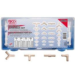 BGS technic BGS technic 8790 Schlauchverbinder Set 100tlg 3-5-6-8-10-12mm in Kassette