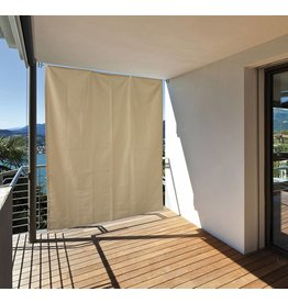 Home & Garden Balkonschutz Sonnenschutz Sichtschutz vertikal 140x230 creme 301050114-HE