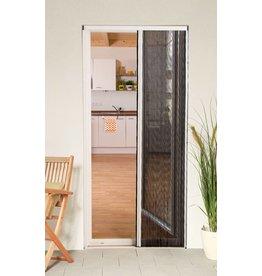 CULEX Plisseetür Plissee Insektenschutz Tür 125x220cm kürzbar weiss 100580101-VH