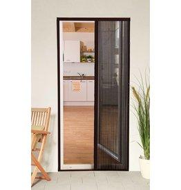 CULEX Plisseetür Plissee Insektenschutz Tür 125x220cm kürzbar braun 100580102-VH