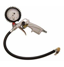 BGS technic 55400 Reifenfüller Reifenfüllmesser geeicht mit Manometer 0-10bar