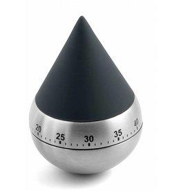Weis 151402 Eieruhr Timer Kurzzeitmesser Zwerg 60min dunkelgrau