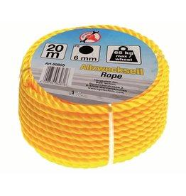 Kraftmann Kraftmann 80805 Allzweckseil Seil Mehrzweckseil 6mm 20m lang aus Polyethylen