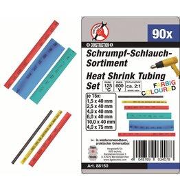 Kraftmann Kraftmann 88150 Schrumpfschlauch Sortiment farbig 90tlg 1,5 bis 10mm