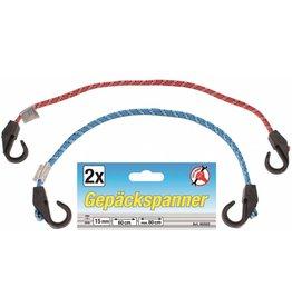 Kraftmann Kraftmann 85502 Gepäckspanner Gepäckgurt Gepäckband 2tlg 60 bis 80cm