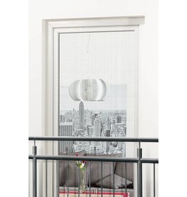 CULEX Fliegengitter 130x220cm für Türen an franz. Balkonen weiss 101140201-CU
