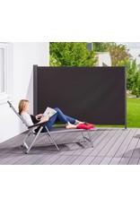 Home & Garden Seitenmarkise Gestell anthrazit/Textilgewebe anthrazit H160xL300cm 302340107-HE