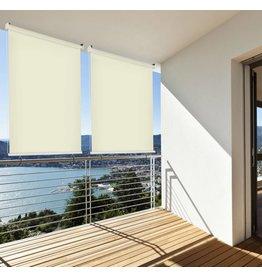 Home & Garden Sonnenschutz Rollo Aussenrollo Sichtschutz Balkon creme 100x230cm 302660114-VH