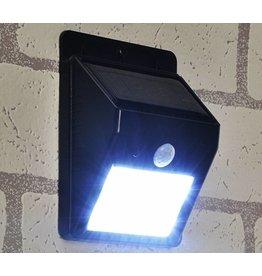 LED Solarlampe Solarleuchte Solarstrahler mit Bewegungsmelder 70189
