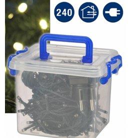 LED Lichterkette Minilichterkette 240LEDs warmweiss für aussen Länge 28,9m 76042