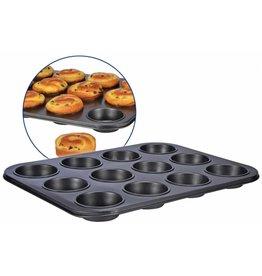 HI Muffinform Muffin Backform 12er 39x29cm antihaftbeschichtet 18018