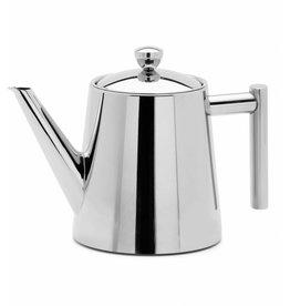 Weis Weis 179123 Edelstahl Teekanne mit Teefilter brilliantpoliert 1100ml