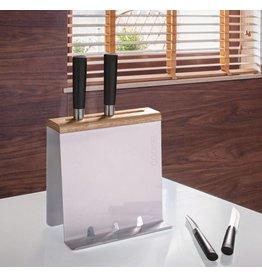 Home & Garden Küchenorganizer Kochbuchständer Messerblock Ständer für Tablet-PC weiss 202850101-HE