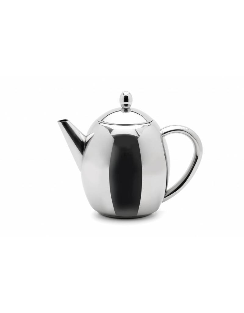 Weis Weis 171226 Weis Edelstahl Teekanne hochglanzpoliert mit Teefilter 1000ml