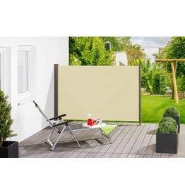 Home & Garden Seitenmarkise Gestell anthrazit/Textilgewebe creme H180xL300cm 302340214-HE