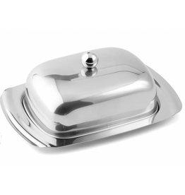Weis 142844 Edelstahl Butterdose Butterglocke hochglanzpoliert für 250g Butter
