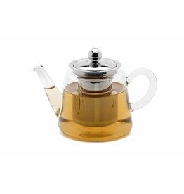 Weis 178058 Teekanne aus Glas mit Edelstahl Filter 1200ml
