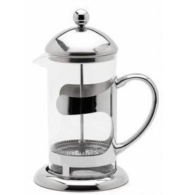 Weis Weis 183472 Pressfilterkanne Kaffeebereiter aus Glas und Edelstahl 1000ml