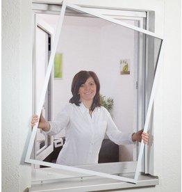 CULEX Fliegengitter Fensterbausatz flächenbündig 130x150 braun 101020102-VH