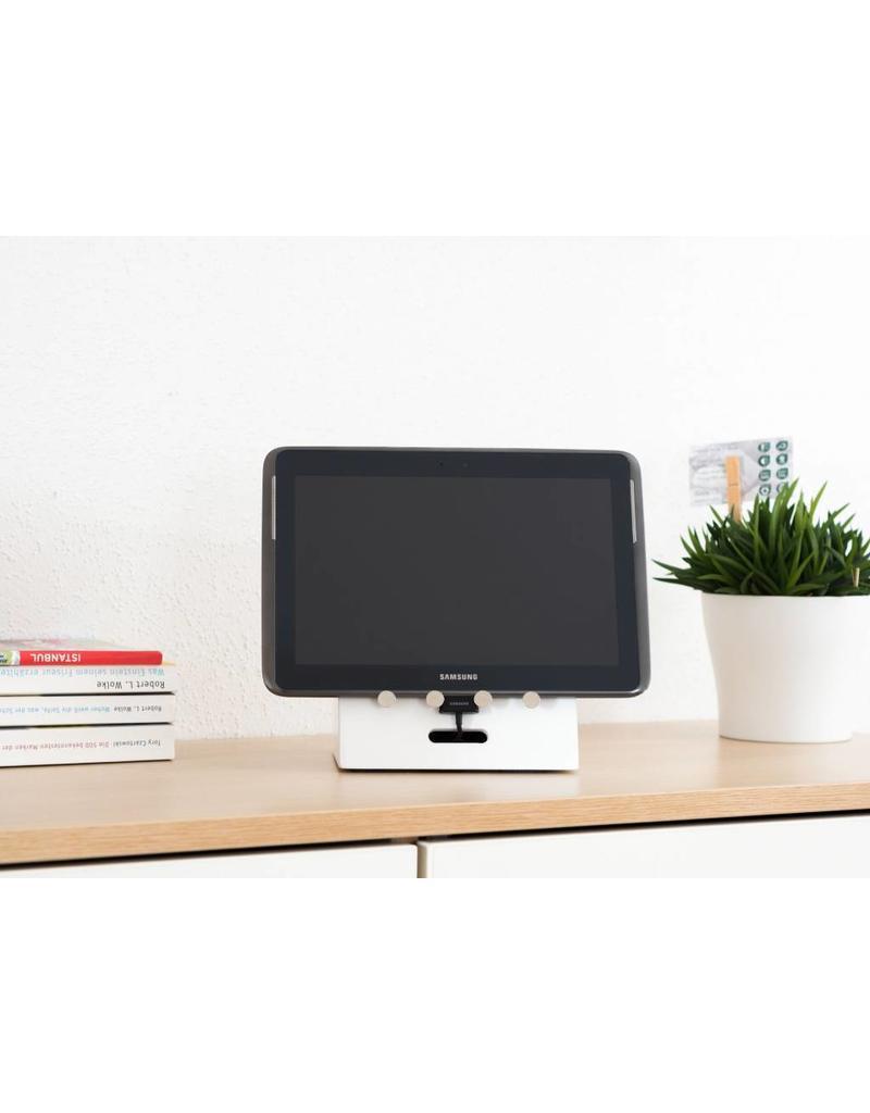 Home & Garden Ladeorganizer Handy Smartphone Tablet Organizer Ladestation CAJA weiss 202240201-HE
