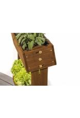 Home & Garden Hochbeet Kräuterbeet Pflanzkasten aus Holz mit neigbaren Kästen 302390108-HE