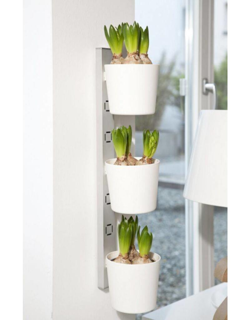 ewega Kräuter- und Pflanzenleiter für Fenster von 72,5-111,5cm weiss 200240201-HE