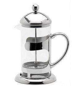 Weis Weis 183434 Pressfilterkanne Kaffeebereiter aus Glas und Edelstahl 600ml