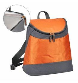 ewega Rucksack mit Kühlfunktion mit 2 Tragegurten orange/grau 66309